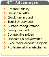 Our Advantages: Quick Turn Around, Product Quality, Design Support and more