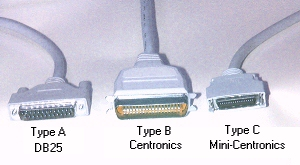 Parallel Bi Directional Ieee 1284 Cables Centronics