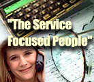 The service focused people