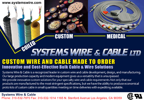 Custom Wire and Cable Made to Order, Innovative and Cost Effective ...
